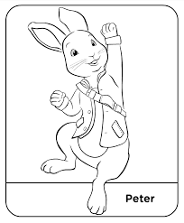 simply simple peter rabbit coloring book children books