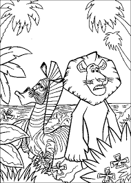 madagascar 3 free colouring pages marty madagascar colouring pages