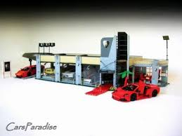 lego lamborghini car lamborghini showroom a lego creation by firas abu jaber