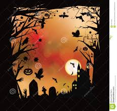 vector halloween vector halloween horror background stock vector image 45427356