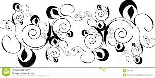 black design ornament royalty free stock photography image 9612437