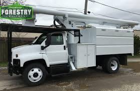 2003 gmc c7500 75 foot altec elevator tristate