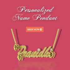 Personalized Name Personalized Gold Diamond U0026 Platinum Jewelry Online Shopping In India