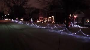 Oglebay Christmas Lights by Seabury Ave Holiday Lights 2012 Part 1 Youtube