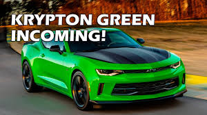 green camaro ss 2017 camaro krypton green 1le