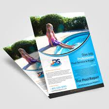 flyer design for jps pool service by hih7 design 13215517