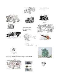 hart parr cletrac oliver tractor info
