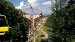 Chair Lift In Gatlinburg Chair Lift Ride To Ober Gatlinburg Youtube