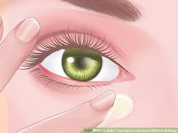 image led make your eyes look good without makeup step 7