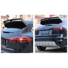 porsche spoiler carbon fiber rear roof spoiler lip wing styling for porsche