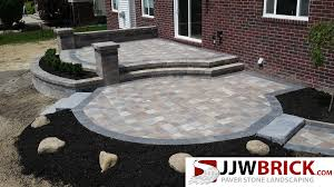 Raised Paver Patio Raised Brick Paver Patio Design Installation Chesterfield Mi