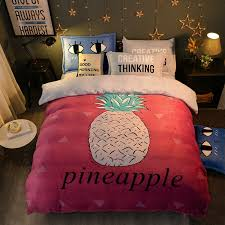 buy pineapple bedding and get free shipping on aliexpress com