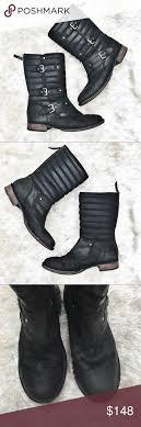 s ugg australia tatum boots ugg tatum leather motorcycle boots size 11 leather motorcycle