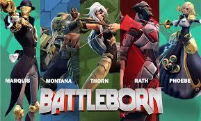 warrior poster scifi robot battleborn arena background mecha