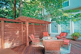 Backyard Screening Ideas Design Ideas For Outdoor Privacy Walls Screen And Curtains Diy