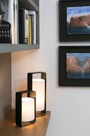 Lampe Deco Design Table Lamp Lula Black U0026 White H40cm Faro Nedgis