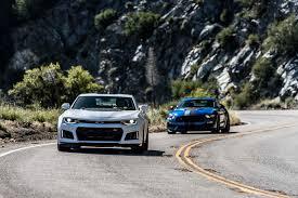 camaro zl1 vs corvette zr1 2017 chevrolet camaro zl1 vs 2017 ford mustang shelby gt350r the