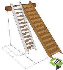 normal staircase vs spacesaver stair stairbox лестница