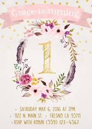 1st Birthday Invitation Card For Baby Boy 1st Birthday Invite First Birthday Invitation By Penelopeandlala