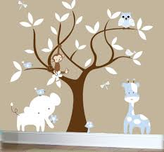 Elephant Wall Decals Nursery by Birch Tree Winter Forest Set Vinyl Wall Decal 1161 With Tree Wall