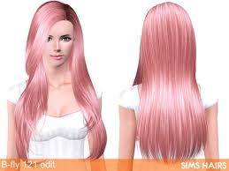 hair color to download for sims 3 b fly sims 121 af hairstyle retextured by sims hairs
