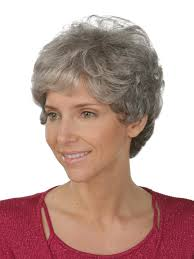 short curley hairstyles for middle aged women short wavy hairstyles for older women with gray hair short