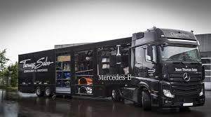 mercedes actros trucks mercedes dtm team relies on actros trucks to journey 2 600km
