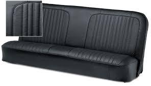 premium leather u0026 vinyl bench seat reupholstery kit 1967 72