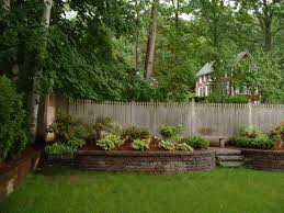 backyard design ideas small backyard retaining wall ideas gabion