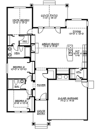 floor plans craftsman craftsman style house plans plan 88 105