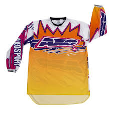 orange motocross gear axo 2015 dyemax jersey orange yellow pink available at