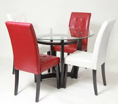 Dining Table Chairs Set Roundhill Furniture