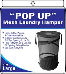 Popup Laundry Hamper by Laundry Products Pop Up Hamper Circular