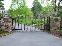 wrought iron wall planters iron driveway gates tri state gate