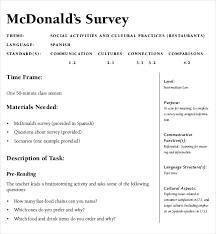 restaurant survey template customer satisfaction survey template