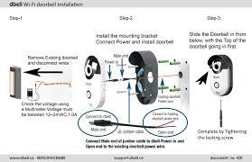 5 0 dbell sd installation guide u2013 dbell wi fi video doorbell support