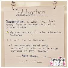 53 best subtraction images on pinterest subtraction kindergarten