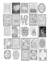 inspirational quote coloring book 25 coloring pages words of