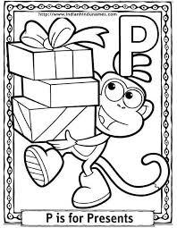 166 best dora coloring pages images on pinterest dora coloring