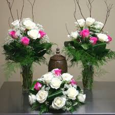 Funeral Flower Bouquets - funeral flower arrangements for urns patriotic flowers product