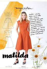 matilda dress megan nielsen