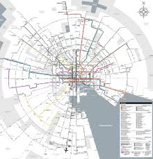 Amtrak System Map by Community Architect Daily Why The Region Needs A New Transit Plan