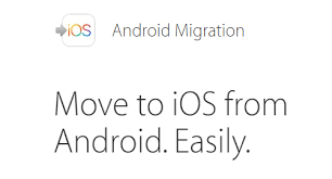 android migrate migrate from android to ios wirelessly using move to ios