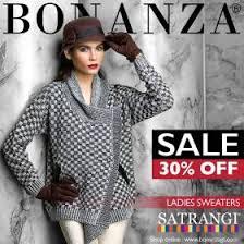 winter sale flat 30 on satrangi sweaters at bonanza