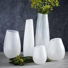 White Vase Vases Botanicals West Elm Au