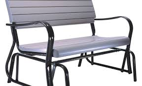 bench wonderful porch bench glider outdoor patio glider bench