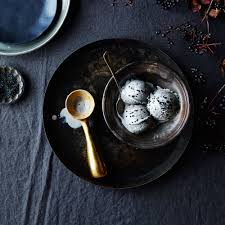 solid brass ice cream scoop on food52