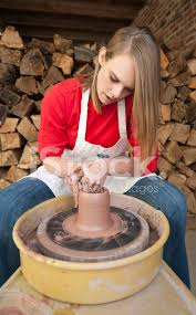 throwing a pot teenage girl throwing a pot stock photos freeimages com