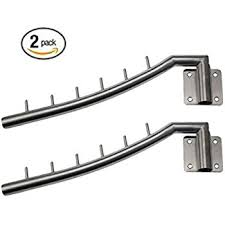 bosszi 2 pack stainless steel clothes hanger with