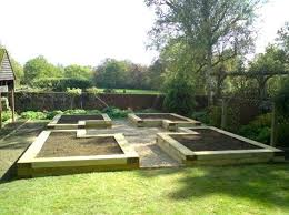 Gardens With Sleepers Ideas Planning A Vegetable Garden Raised Garden Layout Plans Sleepers